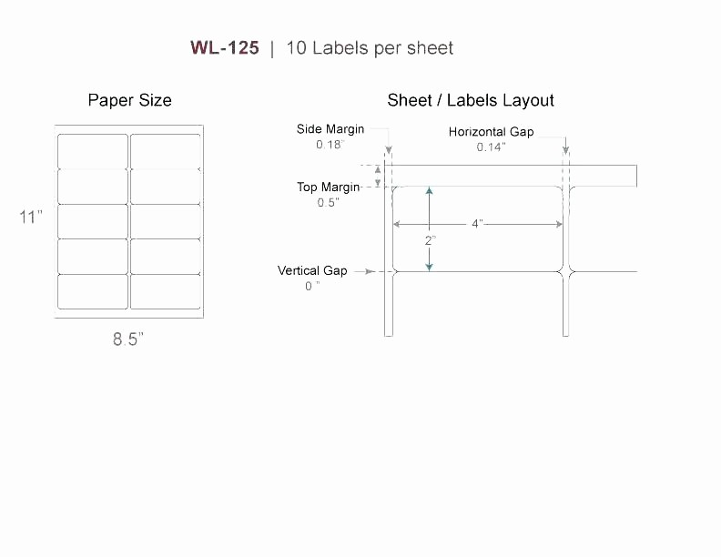 Avery Label 6 Per Page Elegant 14 Label Template