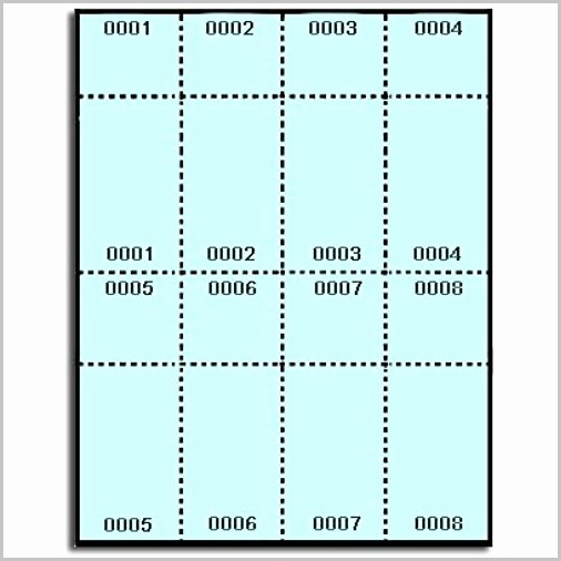 Avery Label 8 Per Page Fresh Avery Raffle Ticket Template 8 Per Sheet Templates 1