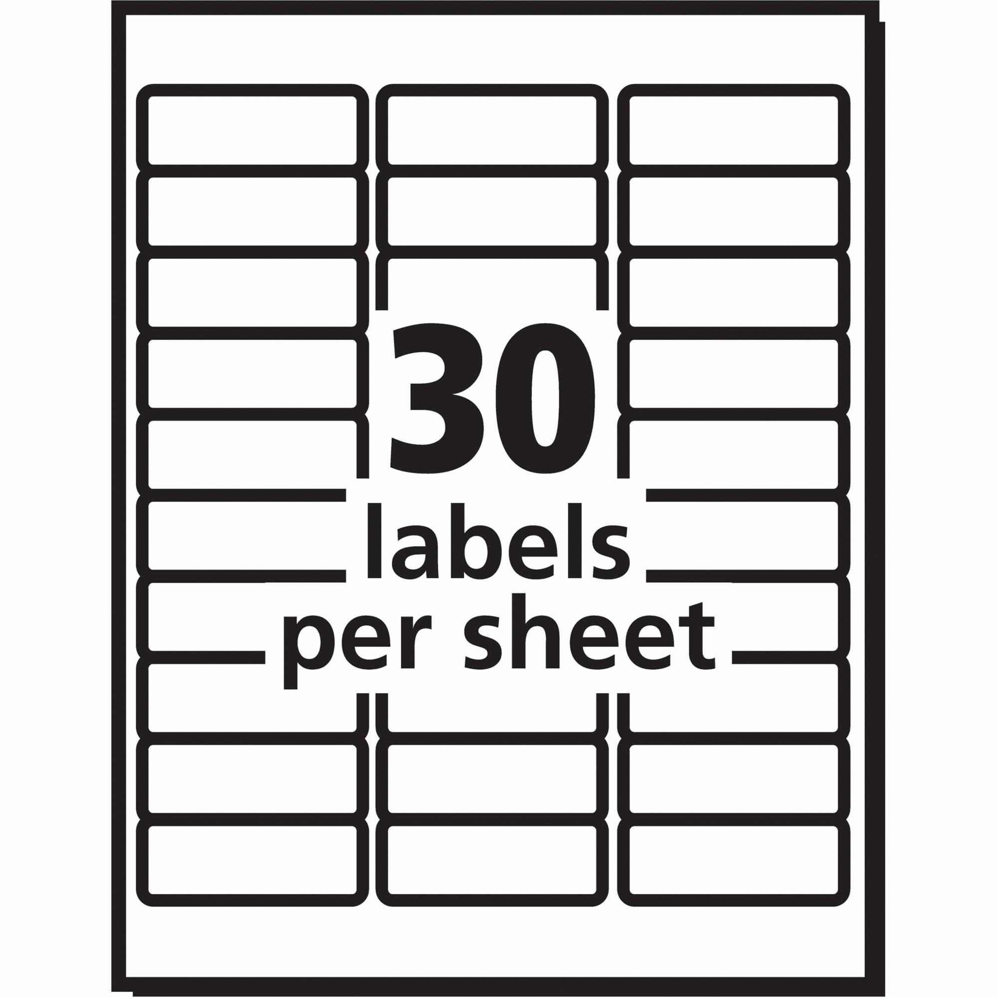 Avery Label 8 Per Page Unique Label Template 40 Per Sheet