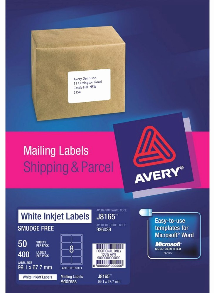 Avery Labels 2 Per Page Awesome Label Template 8 Per Sheet