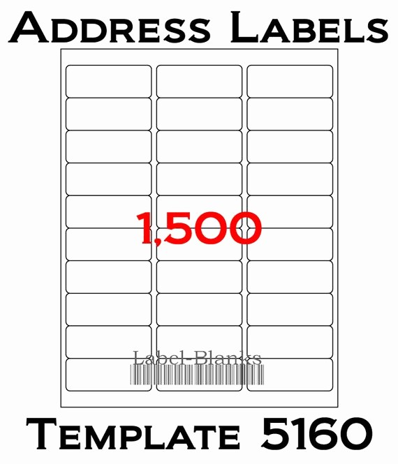 Avery Labels 2 Per Page Lovely Laser Ink Jet Labels 50 Sheets 1 X 2 5 8