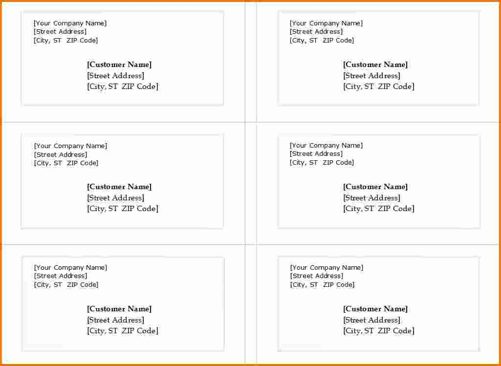 Avery Labels 8163 Word Template Awesome Avery Templates 5163