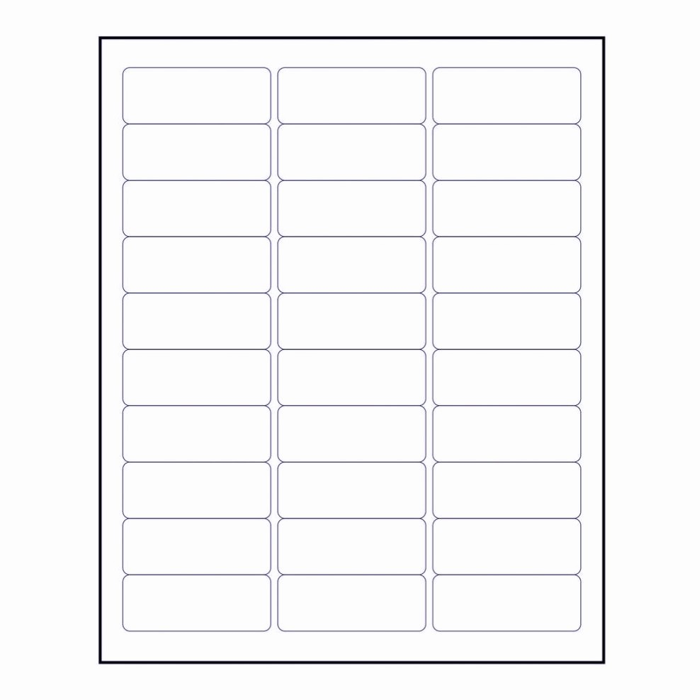 Avery Labels Name Tags Templates Beautiful Free Avery Label Template 5160 Word