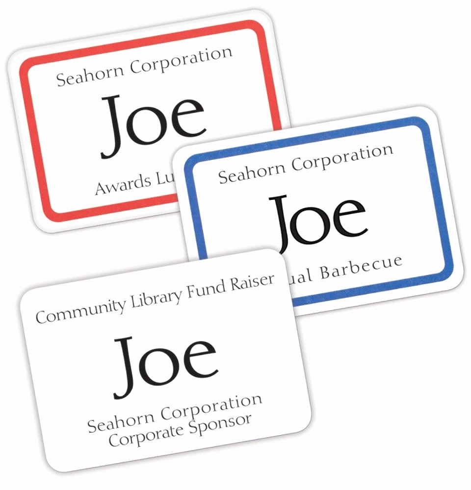 Avery Labels Name Tags Templates Best Of Name Badges Free Avery Design & Print Line Personalize