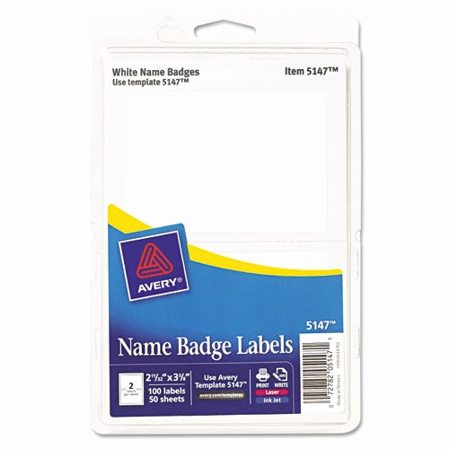 Avery Name Badge Labels Template Lovely Bettymills Avery Removable Adhesive Print or Write Name