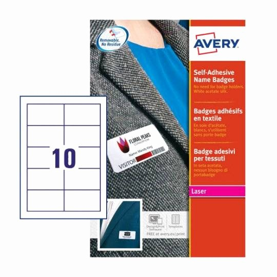 Avery Name Badge Labels Template Luxury Name Badge Inserts L7418 25