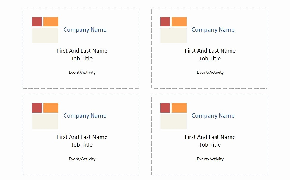 Avery Name Badge Labels Template Unique Patible with Avery Name Badge Template 5395