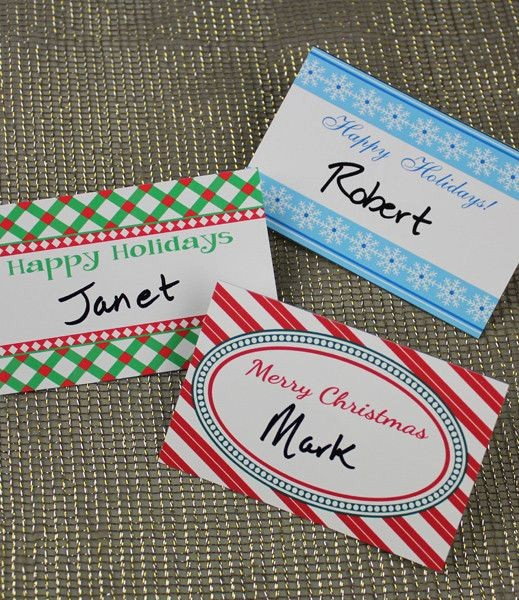 Avery Name Tag Labels Template Elegant Christmas Party Name Tag Templates