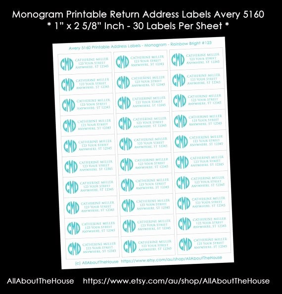 Avery Return Address Labels 5160 Lovely 1000 Images About Allaboutthehouse organising