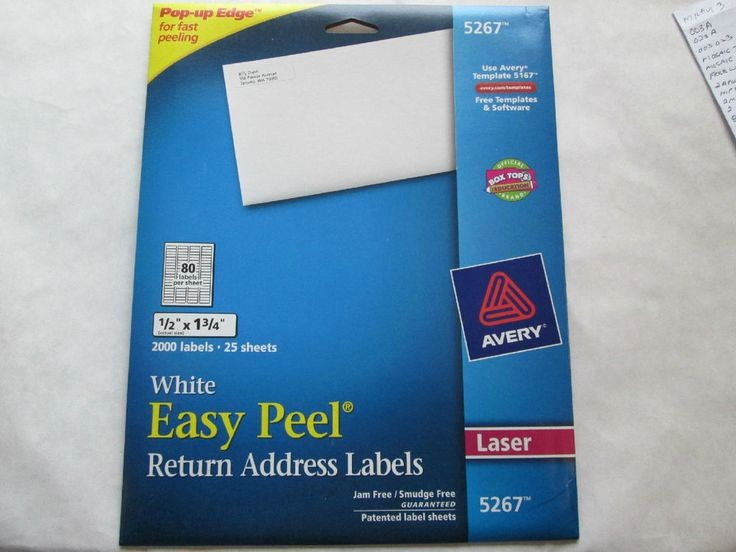 Avery Return Address Labels 5267 Fresh 1000 Ideas About Free Address Labels On Pinterest