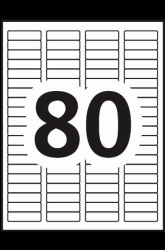 Avery Return Address Labels 5267 New Avery Easy Peel Return Address Labels 5167 Template