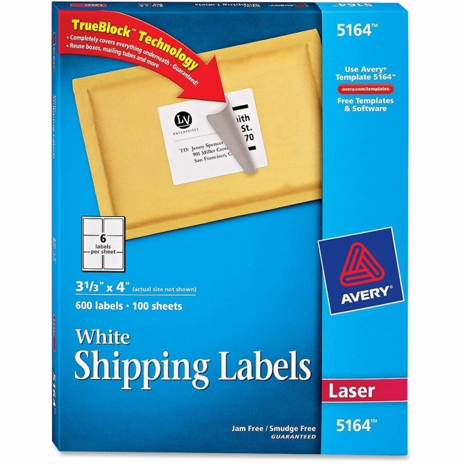 Avery Shipping Label Templates 5164 Beautiful Avery 5164 Blank Template Bing Images