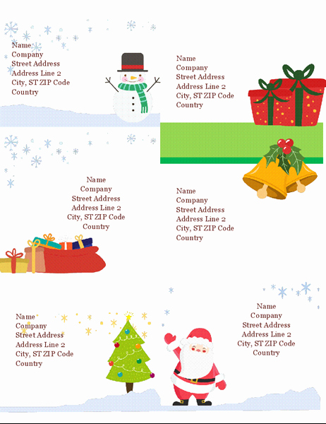 Avery Shipping Label Templates 5164 Best Of Holiday Bud Planner Fice Templates