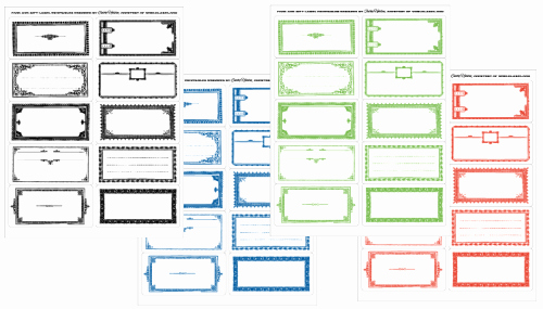 Avery Shipping Labels 5163 Template New Food Label Templates