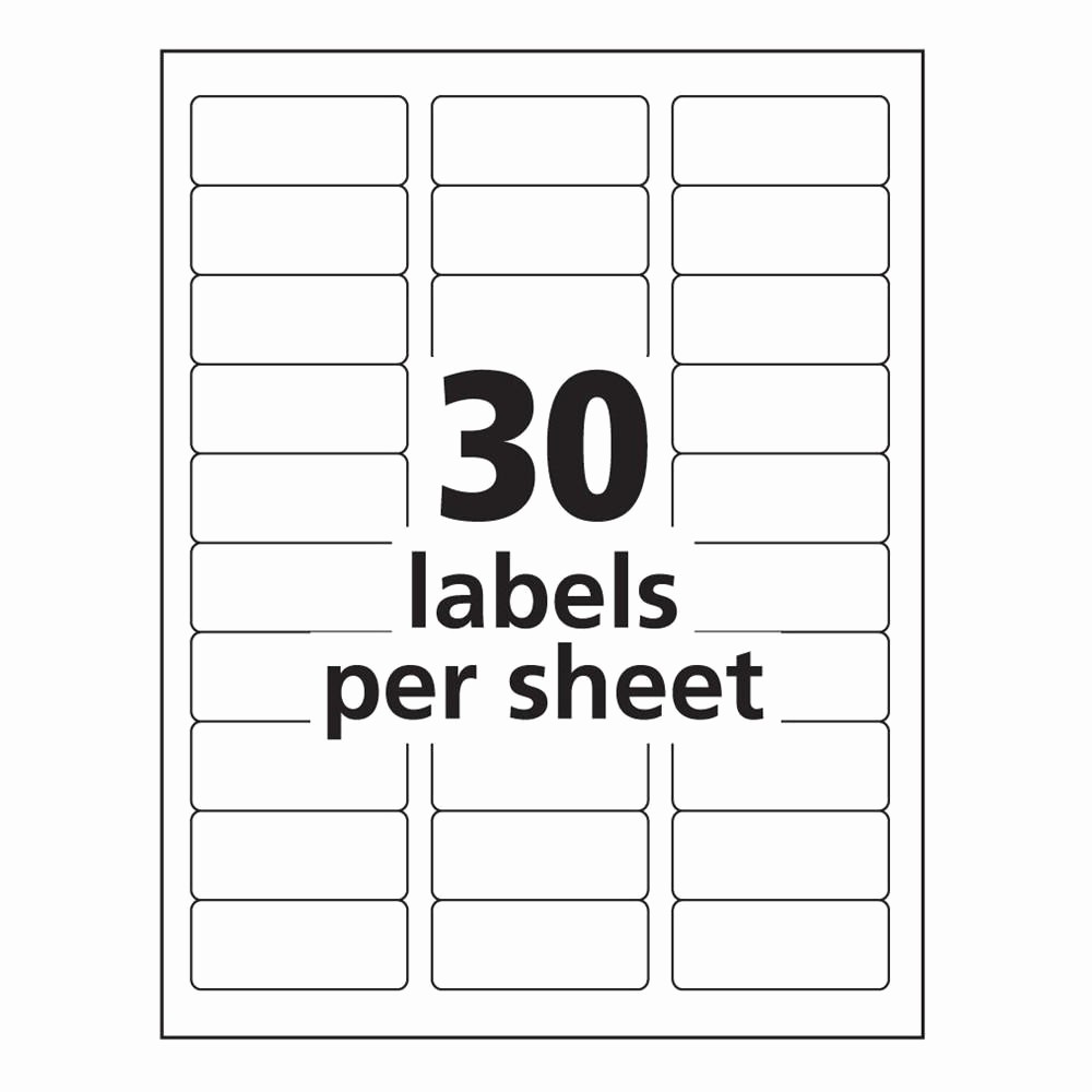 Avery Template 8164 for Word Best Of Avery Labels 10 Per Sheet Template