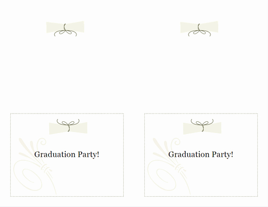 Avery Template 8315 Note Cards Elegant Download Free Printable Invitations Of Graduation Party