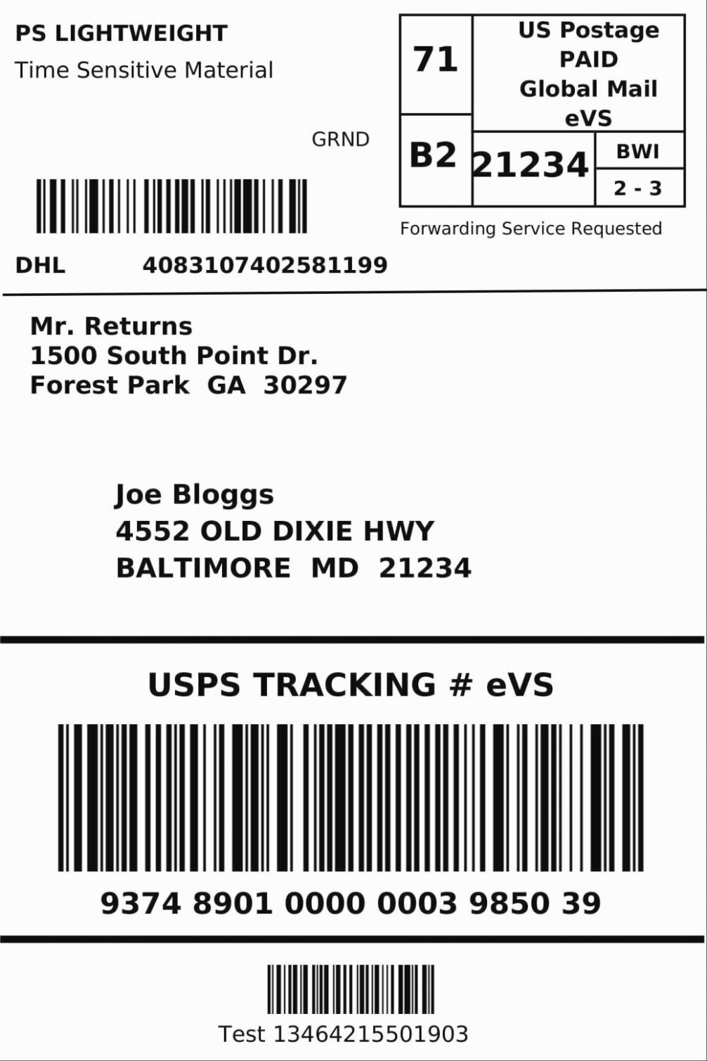 Avery Template Return Address Labels Elegant is Return Mailing Labels