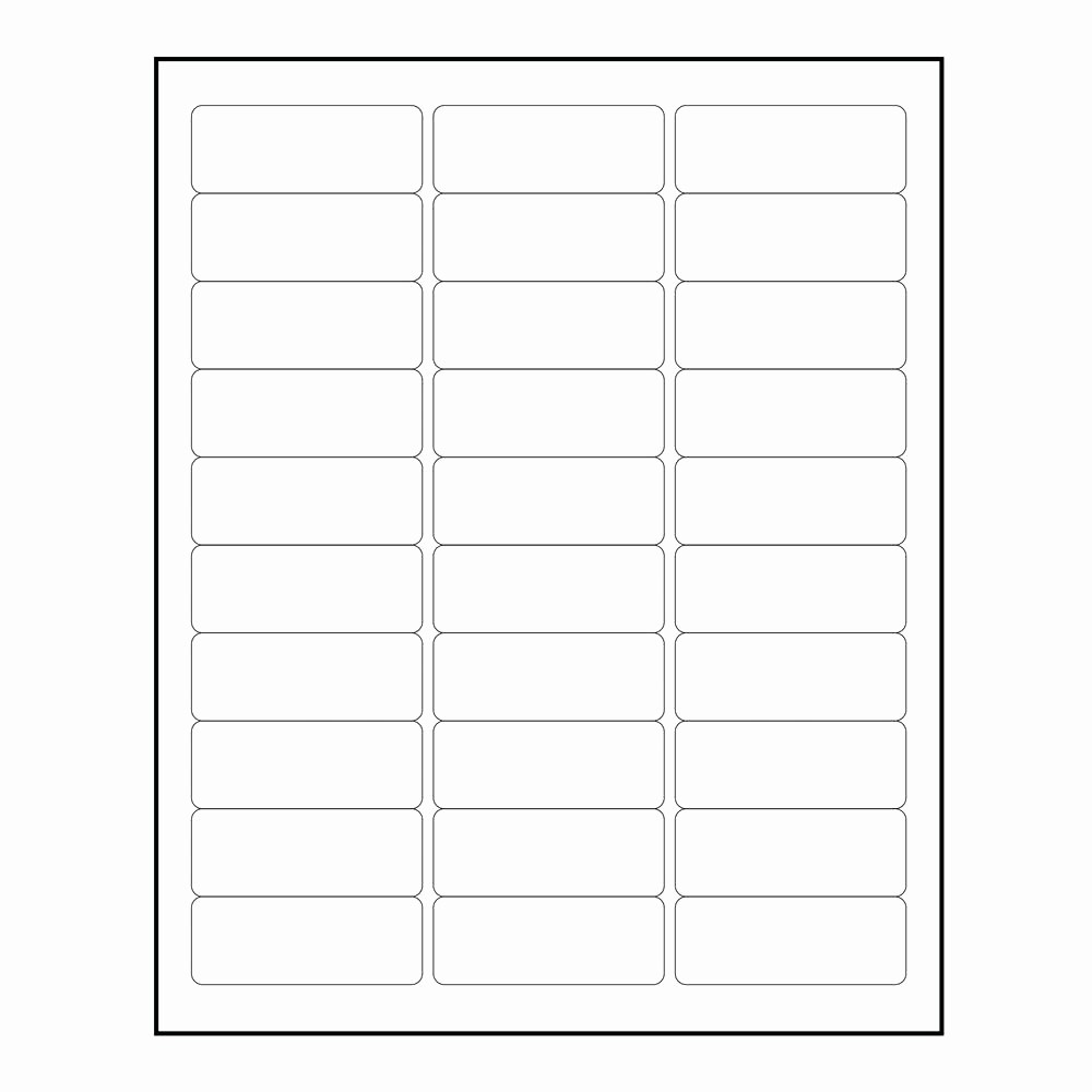 Avery Template Return Address Labels Lovely Avery 5160 Labels Template