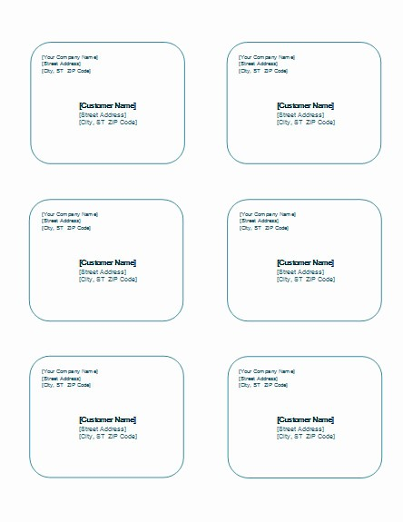 Avery Templates 8163 to Download New 7 Best Of 8163 Avery Shipping Label Template 8163
