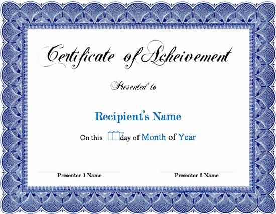 Award Certificate Template Microsoft Word Awesome Award Certificate Template Microsoft Word Links Service