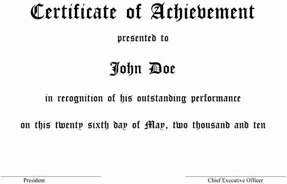 Award Certificate Template Microsoft Word Awesome Make An Award Certificate In Ms Word