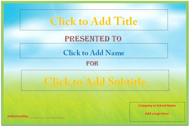 Award Certificate Template Microsoft Word Best Of Ever Green Award Certificate Template Microsoft Word