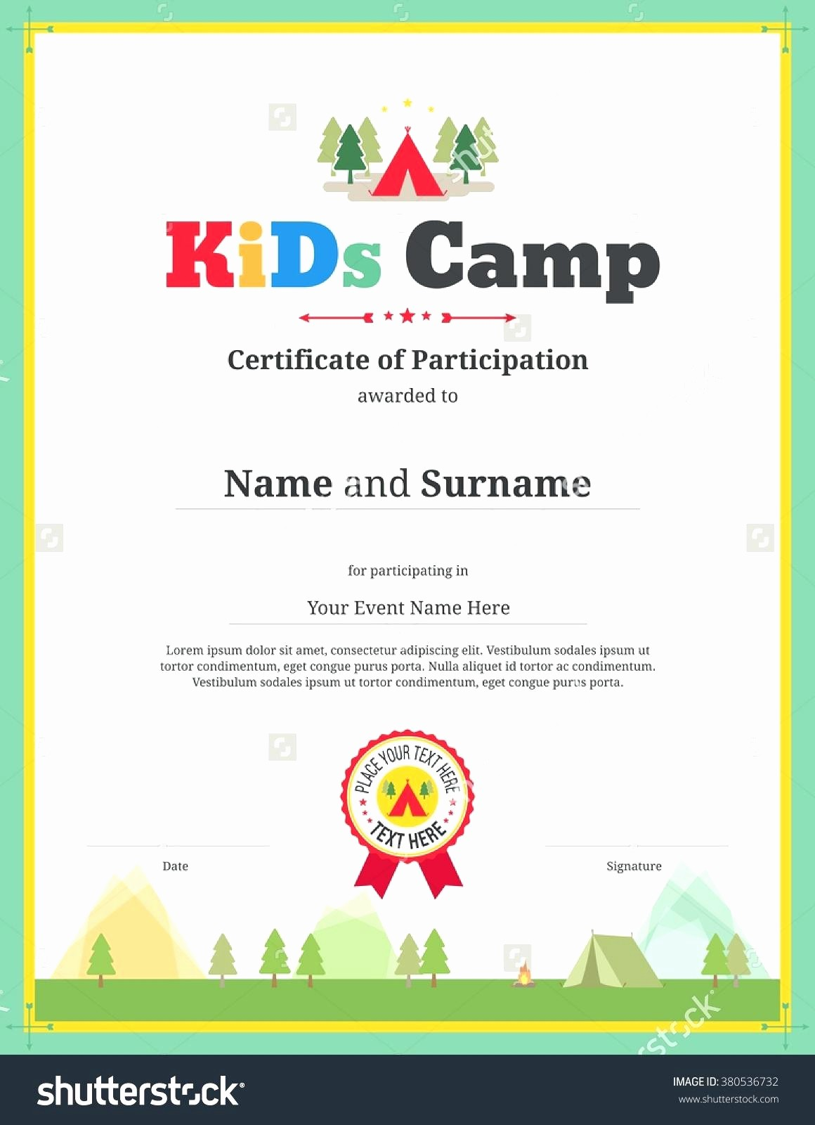 Award Certificate Template Microsoft Word Inspirational Template Sports Award Template