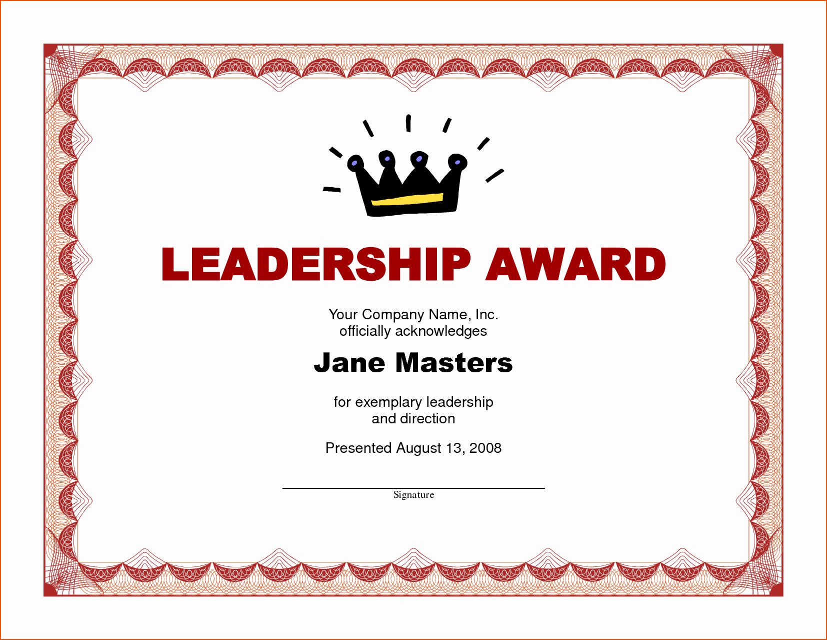 Award Certificate Template Microsoft Word Lovely 8 Award Certificate Template Word Bookletemplate