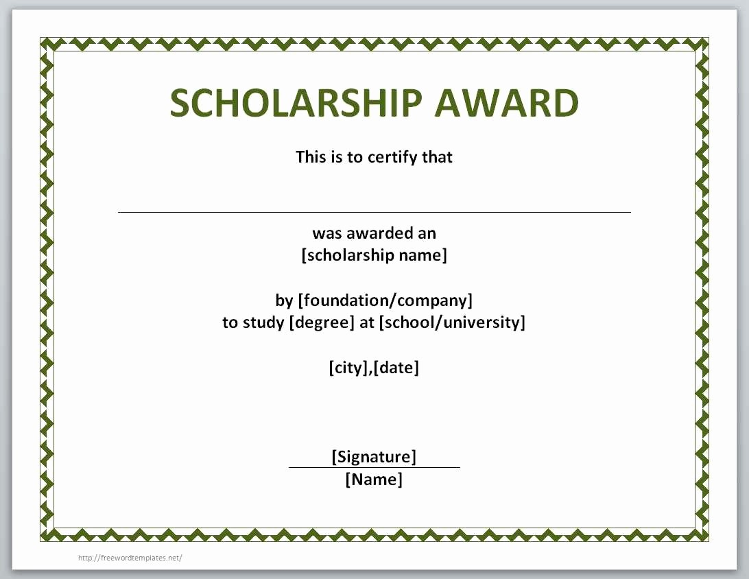 Award Certificate Template Microsoft Word Luxury Award Certificate Template Word Example Mughals