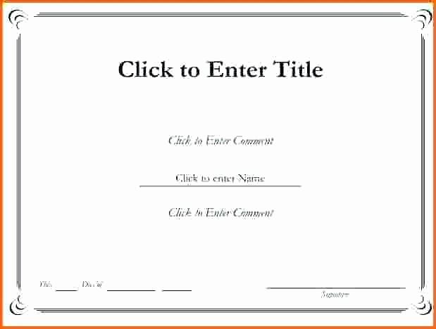 Award Certificate Template Microsoft Word Luxury Blank Border Templates Blank Certified Border Template