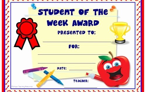Award Certificates for Elementary Students Awesome Achievement Award Certificates