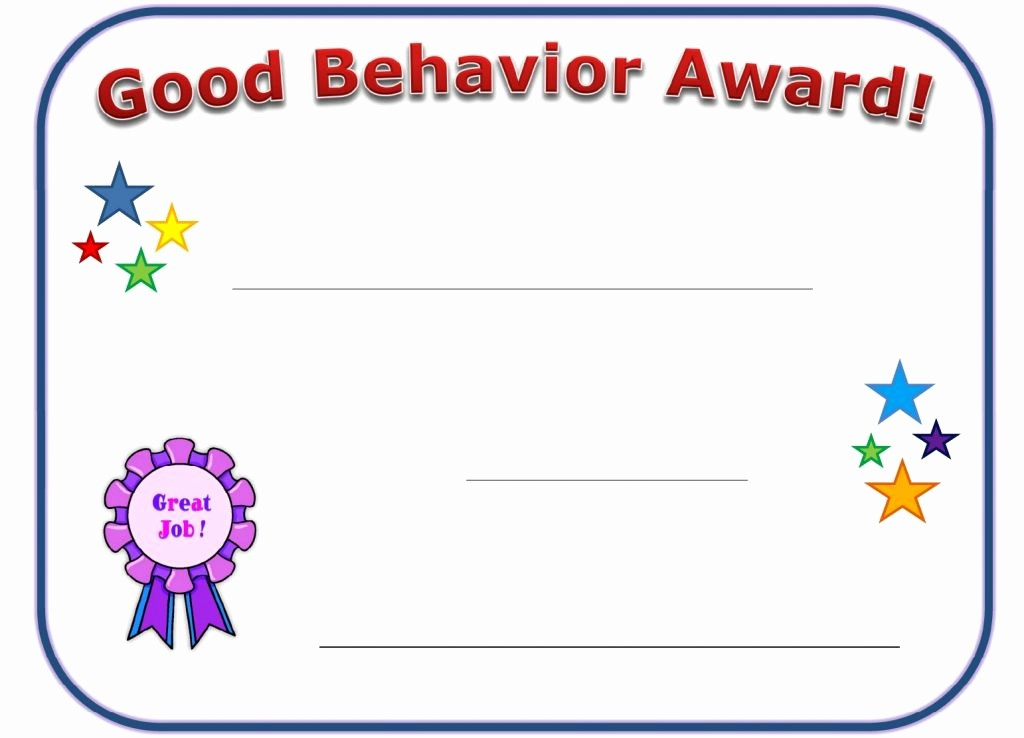 Award Certificates for Elementary Students Awesome Free Printable Award Certificates for Elementary Students
