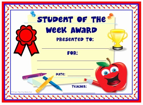 Award Certificates for Elementary Students Beautiful Achievement Award Certificates