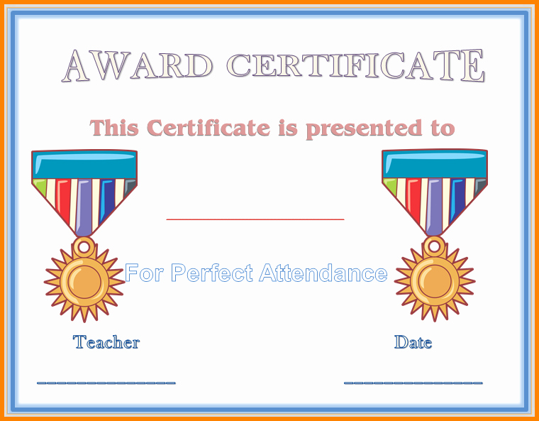 Award Certificates for Elementary Students Elegant 9 Elementary Award Templates