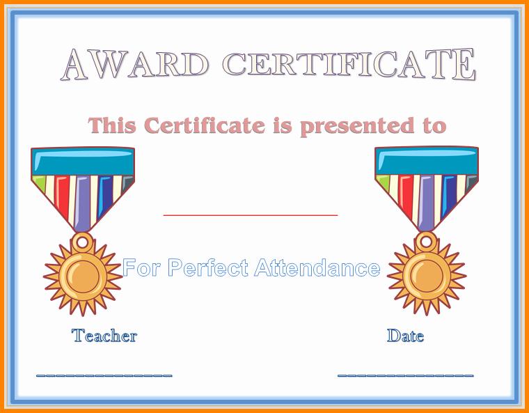 Award Certificates for Elementary Students Elegant 9 Elementary Award Templates
