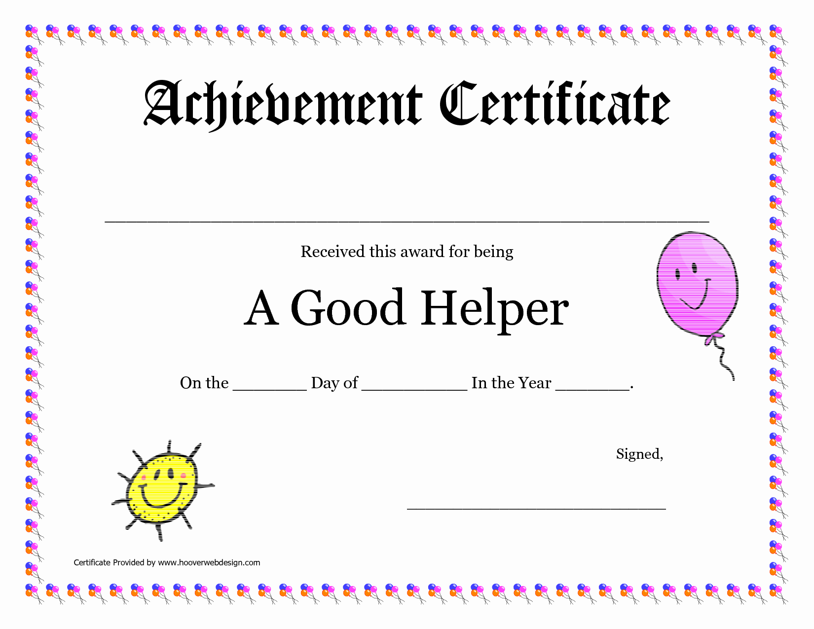 Award Certificates for Elementary Students Elegant Blank Award Certificates Free Download with Printable