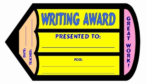 Award Certificates for Elementary Students Inspirational English Award Certificates