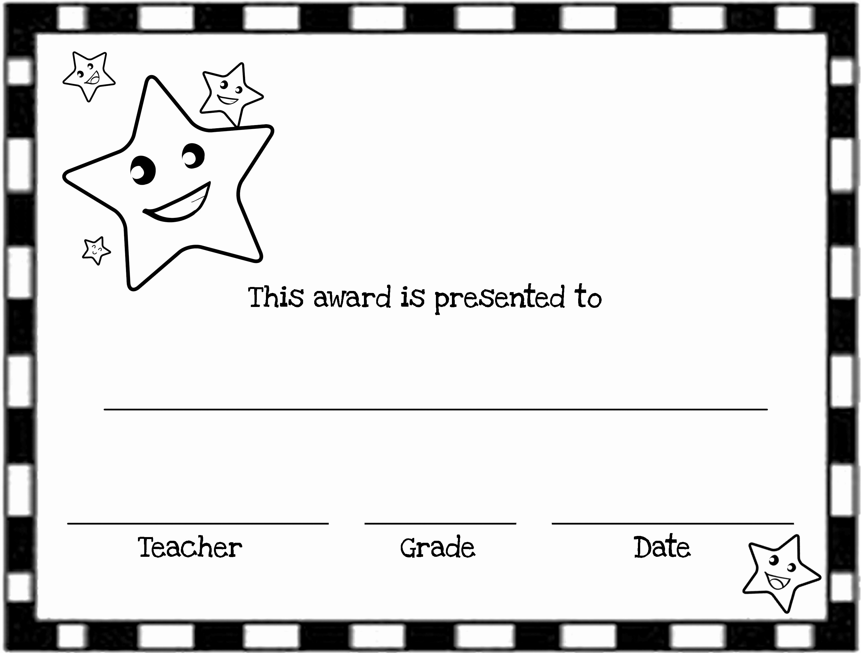 Award Certificates for Elementary Students New Free Printable Award Certificates for Elementary Students