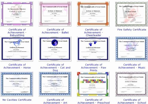 Award Certificates for Elementary Students Unique Free Awards Certificates for Elementary Students