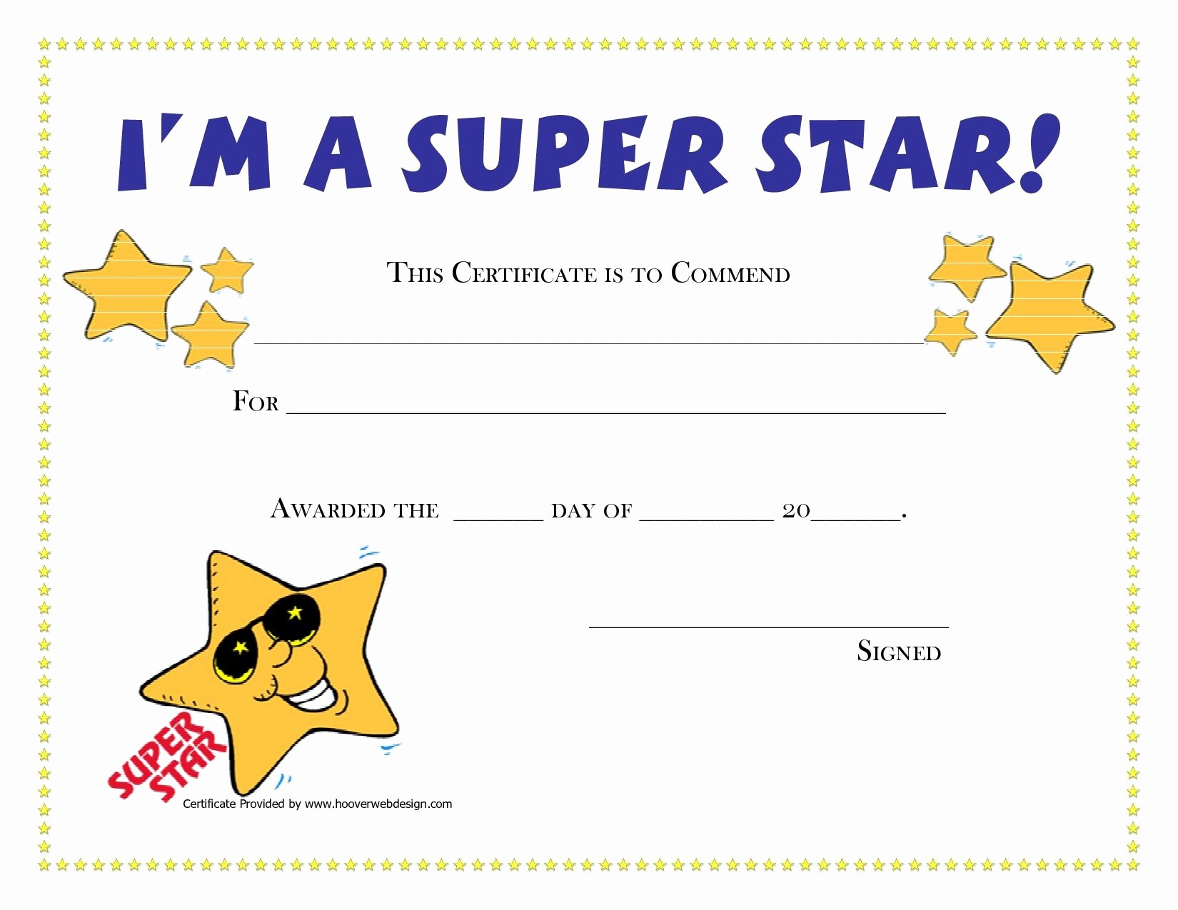 Award Certificates for Students Free Awesome Printable Award Certificates for Students