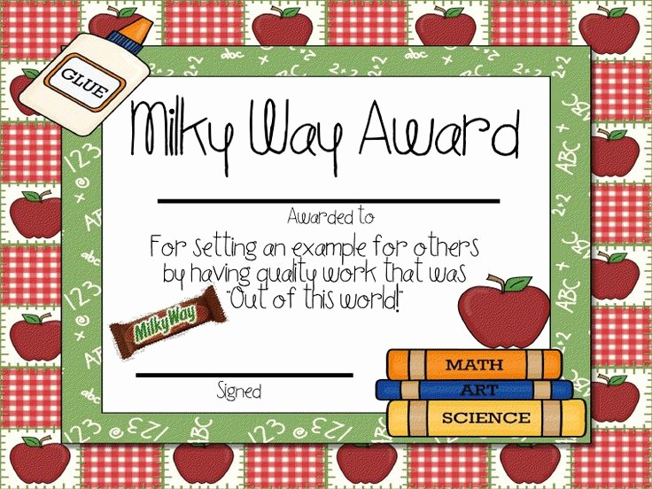 classroom student awards