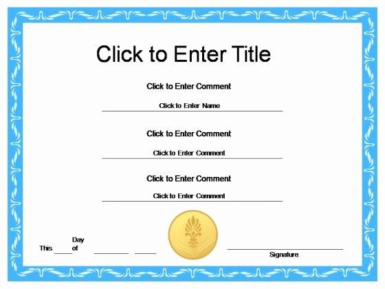 Award Certificates for Students Free Unique New Award Certificates Templates