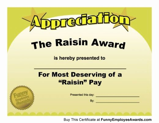 Awards and Certificates for Students Awesome Funny Teacher Awards