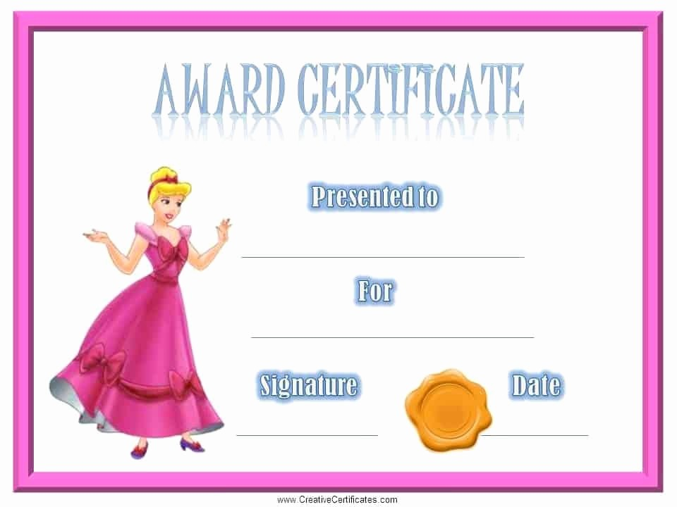 Awards and Certificates for Students Inspirational Certificates for Kids Free and Customizable Instant
