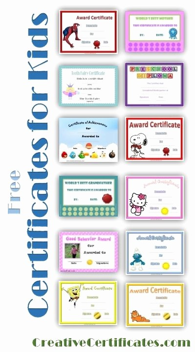 Awards and Certificates for Students New 184 Best Images About End Of Year Preschool On Pinterest
