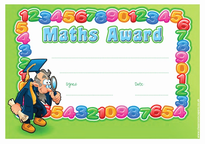 Awards and Certificates for Students New School Certificate