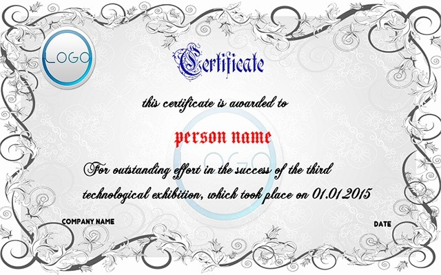 Awards Certificate Template Google Docs Awesome Certificate Maker