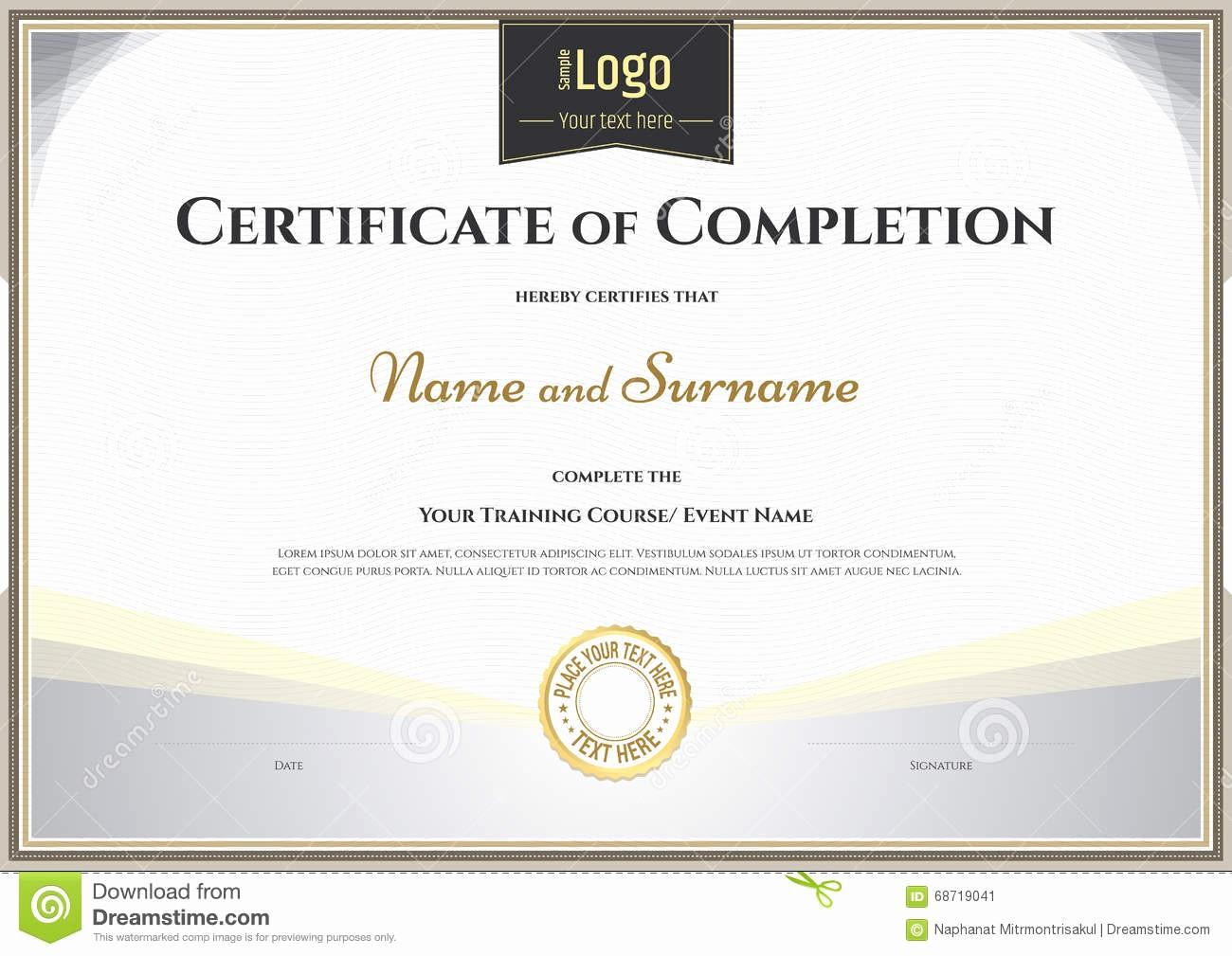 Awards Certificate Template Google Docs Best Of Certificate Certificate Pletion Template