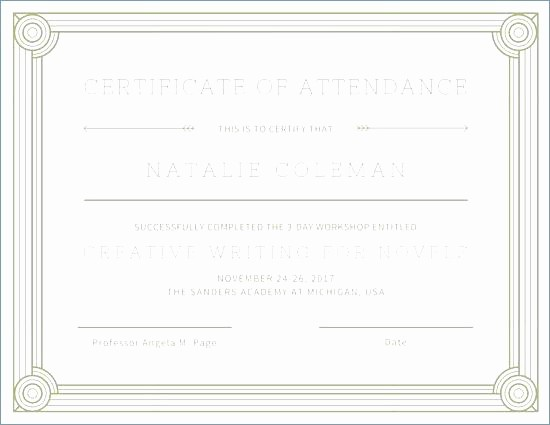 Awards Certificate Template Google Docs Best Of Templates Stunning Award