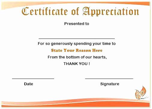 Awards Certificate Template Google Docs Fresh Certificate Templates Amazing Appreciation Template